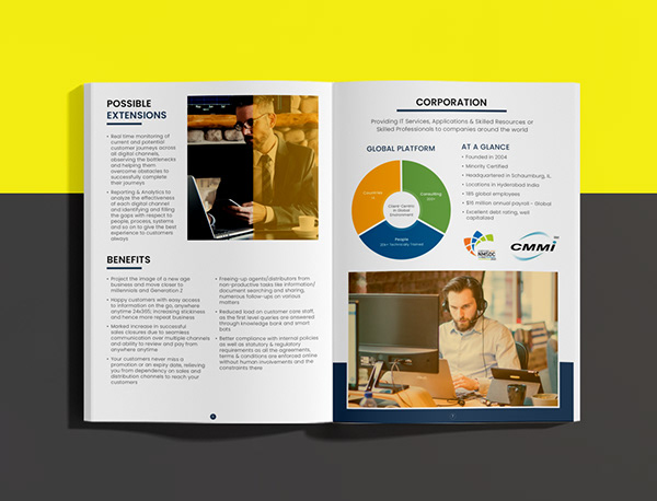 Company Profile Design   Business Proposal