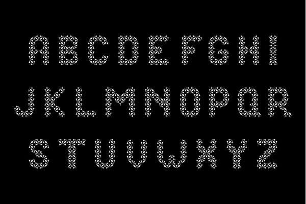 Cuneiform sumerian clinton stringer Typeface lettering alphabet