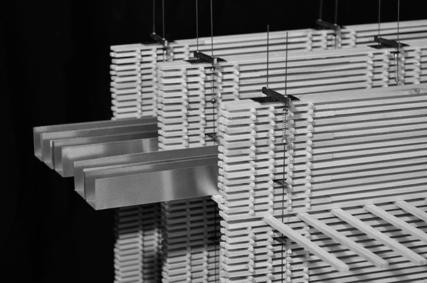 Peter Zumthor Swiss Pavilion Structural Model On Behance