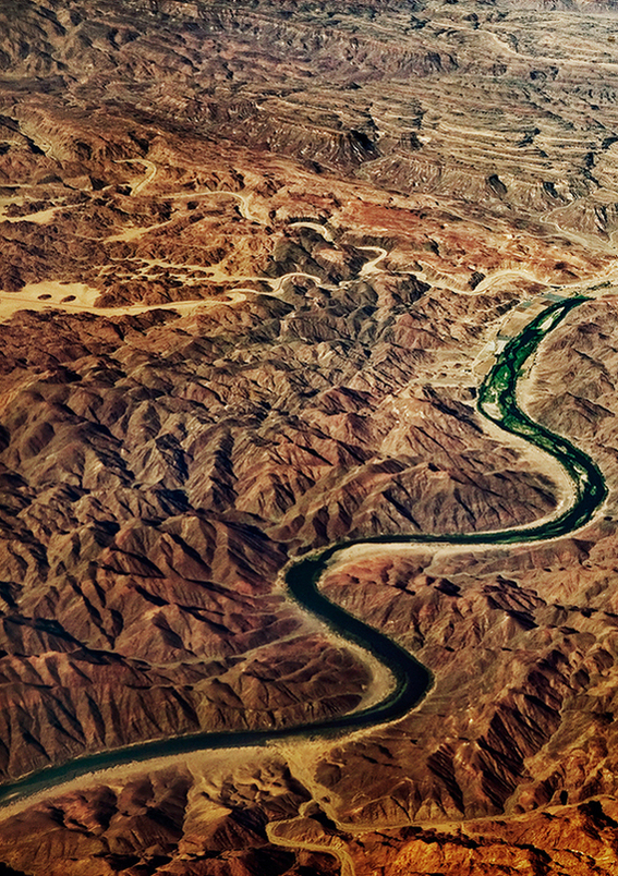 Aerial Landscape Nature africa south africa pattern structure abstract above fine art