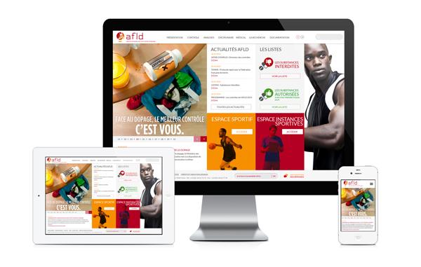 direction artistique Webdesign ux UI sport
