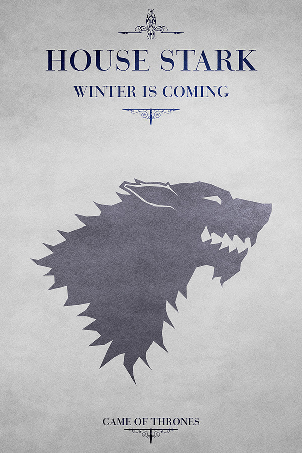 Awesome House Stark On Behance