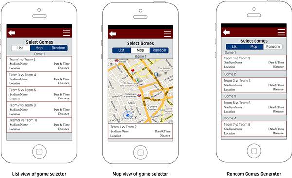 Home Run Tours App on Behance