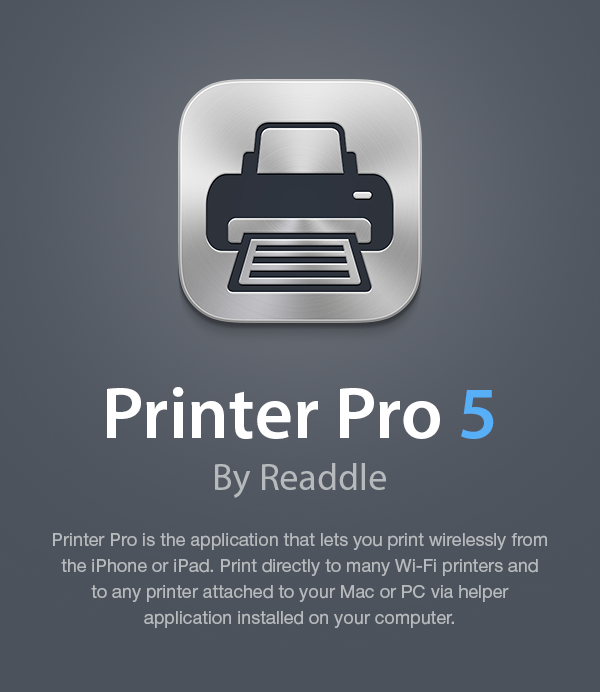 Printer Pro 5 by Readdle on Behance