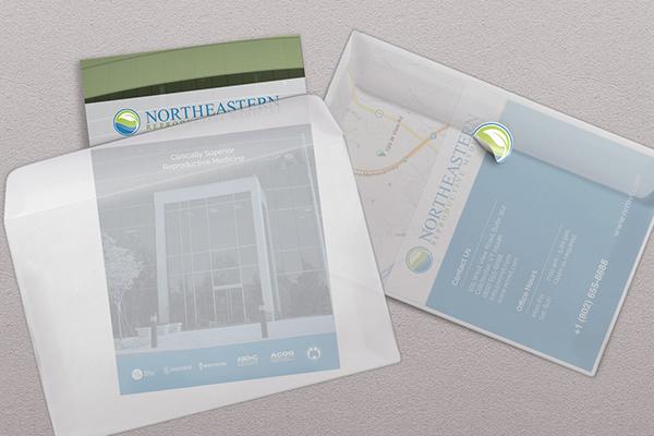 medicine Reproductive Medicine folder envelope clean infertility minimalist subtle