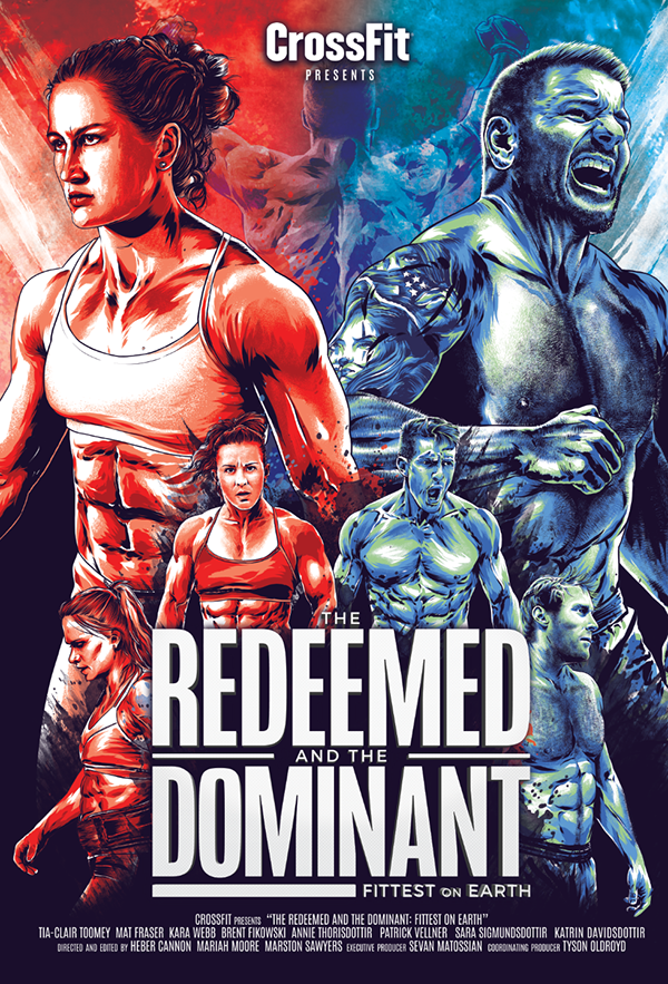 Stuffcrossfit Products The Redeemed And Dominant Art Print