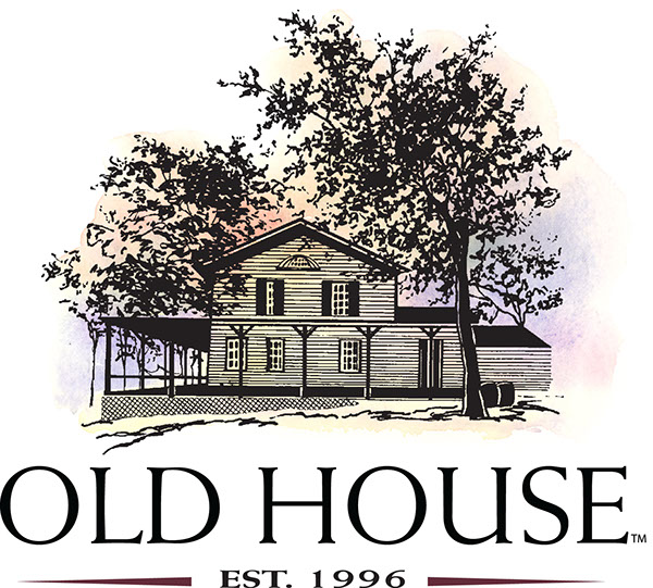 Old house logo and olive oil label design on behance for Classic house labels
