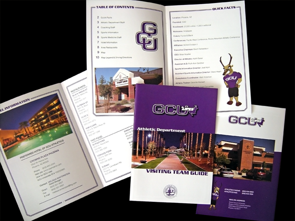 Grand Canyon University - Visitors Guide, Flyers, LHead
