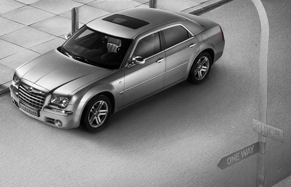 Murgrabia Pawel Nolbert chrysler 300 car