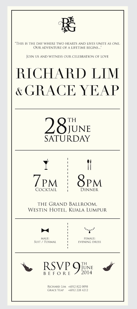 Richard and graces wedding invitation card on behance i simplified the map to give better understanding and readability to the guests and implemented it into the compass for an interesting approach rather than stopboris Gallery