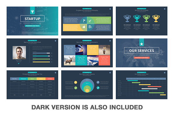 Modern Powerpoint Templates Free