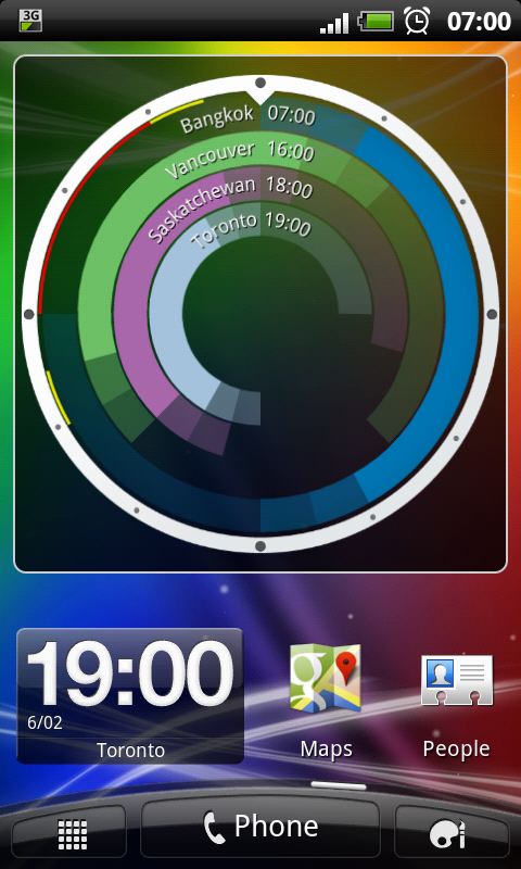 android mobile widget