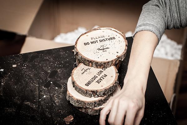 alpine hotel  Tirol  ischgl  Austria  Travel rubberstamp  Wood hangtag Stationery wine bureau Rabensteiner winter Hot Foil