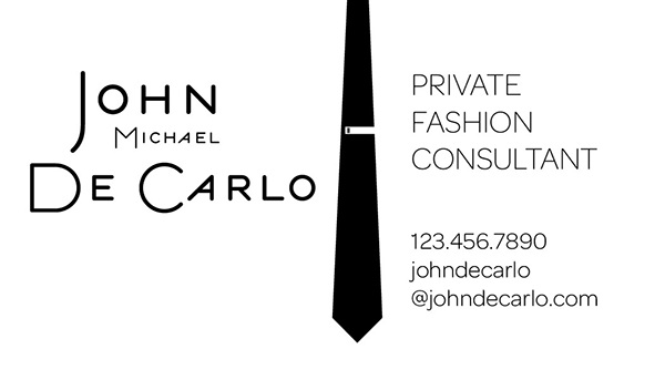 Fashion consultant business card design and logo on behance Fashion design consultant