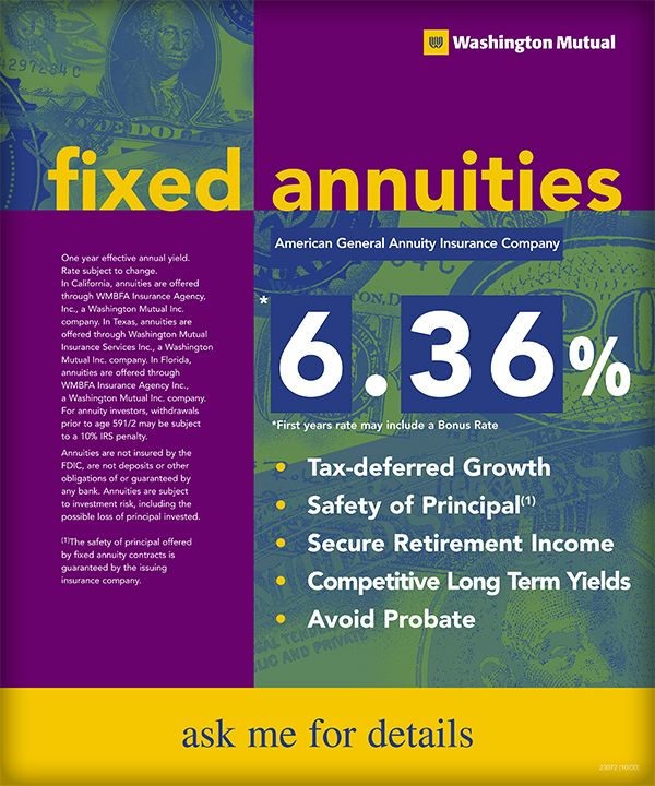 fixed annuities rate board on behance