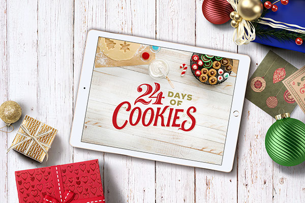 Betty Crocker S 24 Days Of Cookies On The Art Institutes Portfolios
