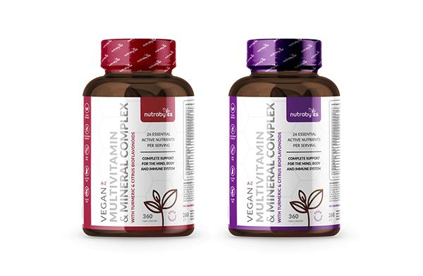 Label design for a new vitamin line
