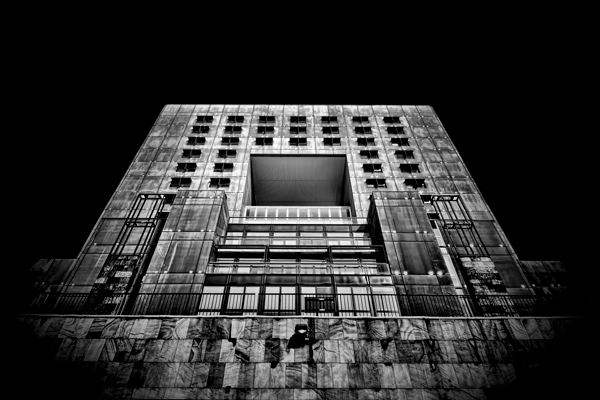 black milano galleria lights buildings black and white lithography contrast darkness time Eternity perennial life