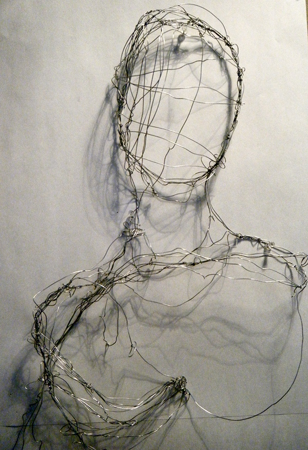 Wire art on behance for Wire art projects