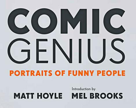 comic genius book comedy  comic Matt Hoyle Celebrity comedian video