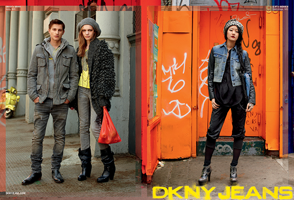 DKNY Jeans Advertising on Behance
