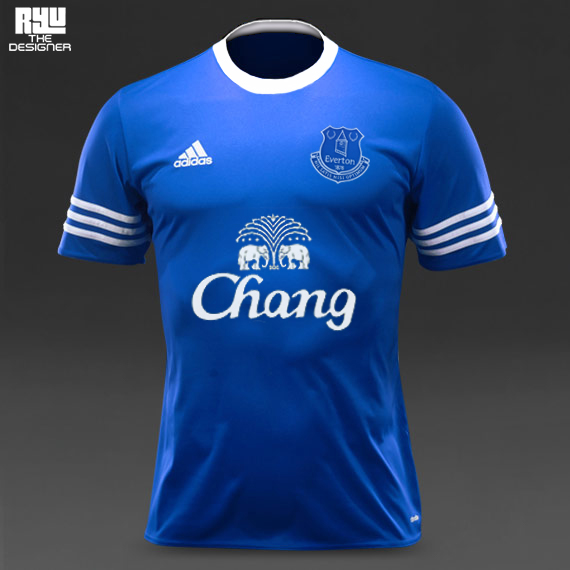 Everton Football Club - Adidas sponsor on Behance f74a60669