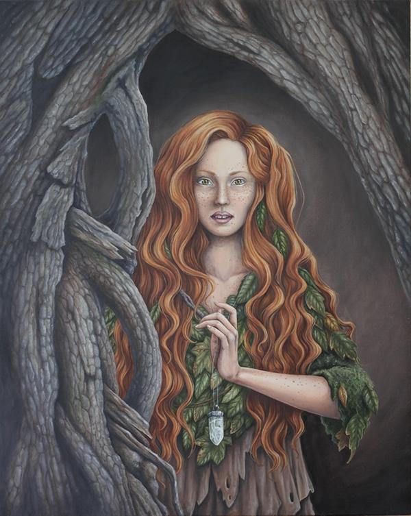 Fantasy Oil Paintings on SVA Portfolios