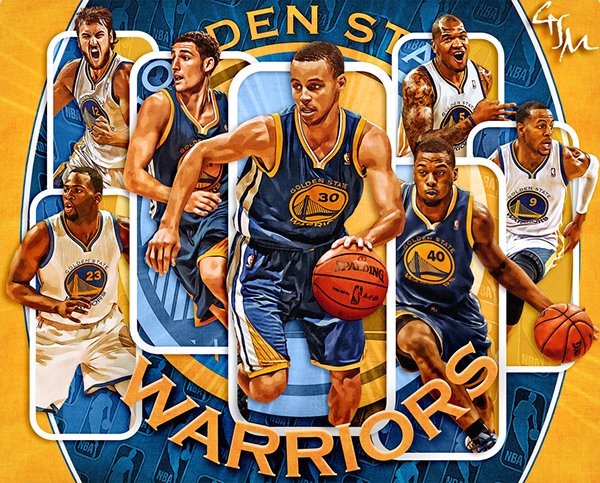 Golden State Warriors Wallpaper On Behance