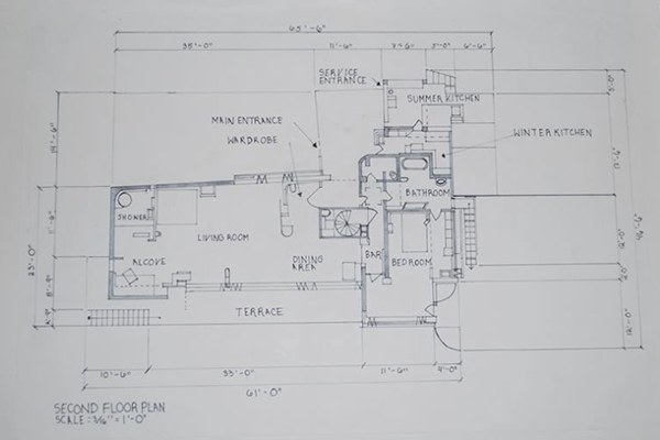 eileen gray e1027 floor plan - photo #3