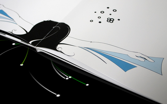 tangible user interface Tui hirngespinster motion book book interactive final exam final year diplom Interface characters