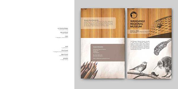 museum brochure on behance. Black Bedroom Furniture Sets. Home Design Ideas