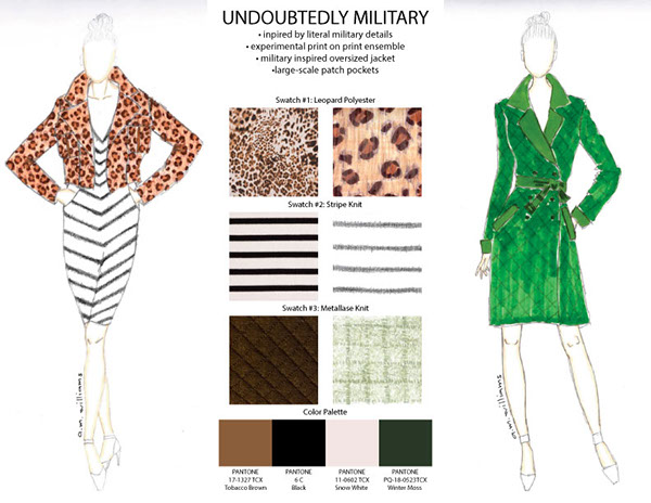 Ai Project Fashion Drawing On The Art Institutes Portfolios