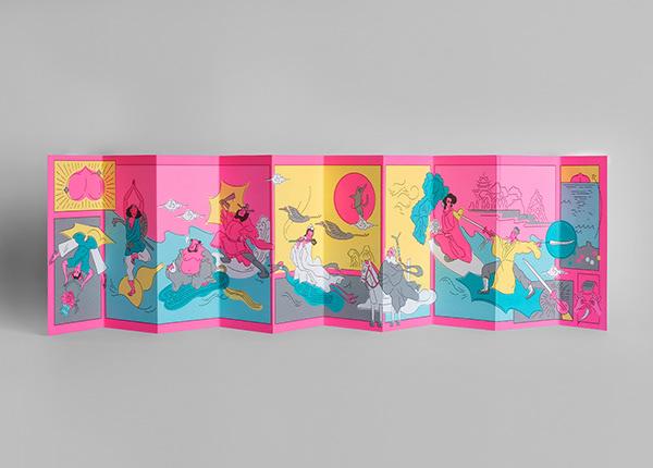 8 Immortals' Colours