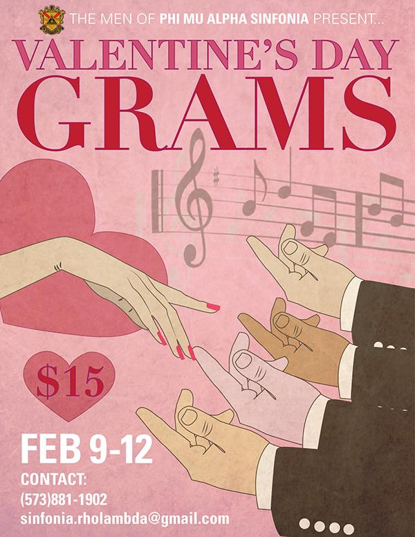 Valentineu0027s Day Singing Gram Flyer On Behance