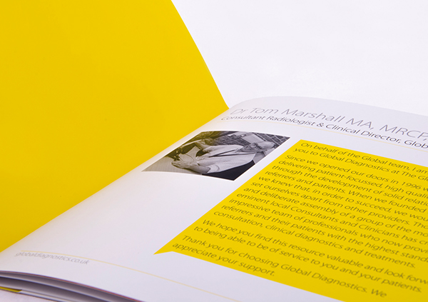 Global Diagnostics Directory Brochure on Behance