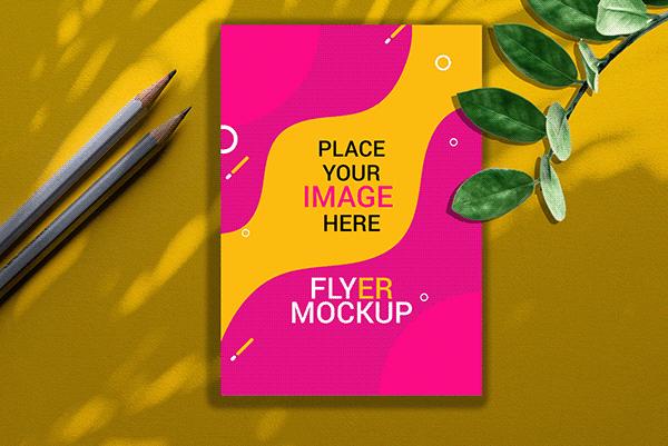 Download Flyer Mockup Free