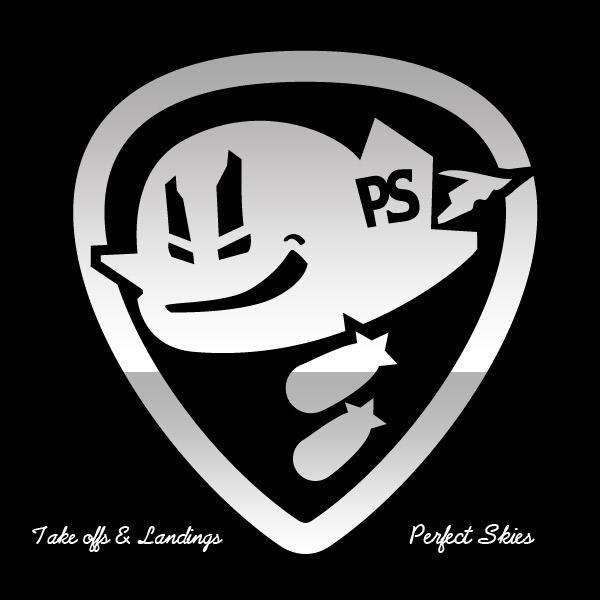Perfect Skies Punk Rock Band Identity On Behance