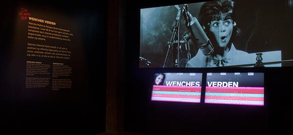 Exhibition  wenche myhre Rockheim