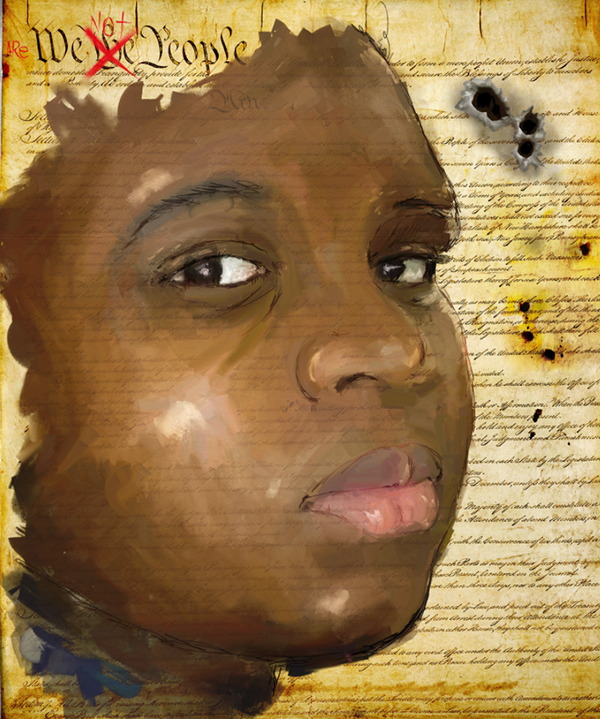 """michael brown original Was michael brown facing towards """"several other witnesses maintained their original statement that mr brown had his hands int he air and was not moving."""