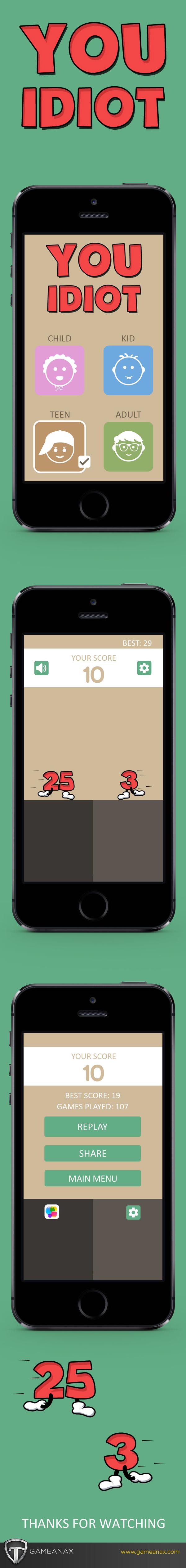mobile gaming Gaming UI iphone iPad Games
