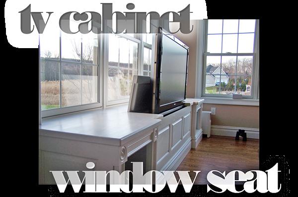 Tv Cabinet Window Seat On Behance