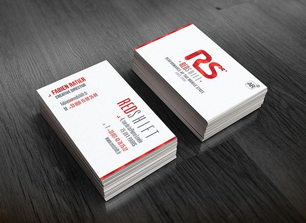business card identity print