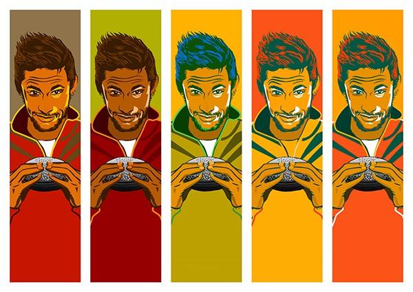 Neymar brazilian football soccer football lifebuoy Brazil