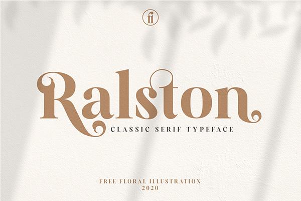 Introducing - Ralston Classy Serif Typeface