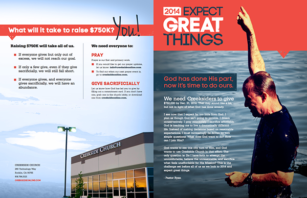 Expect Great Things Campaign Brochure on Behance
