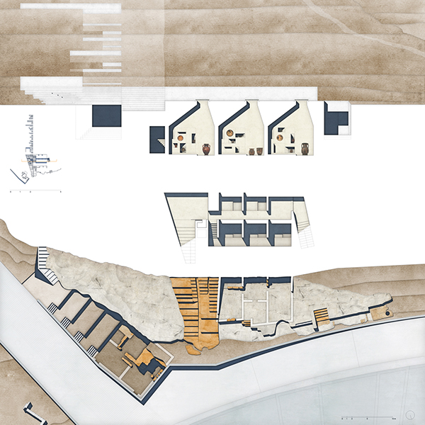 Pnix archeological museum athen on behance for Planimetrie della casa antica