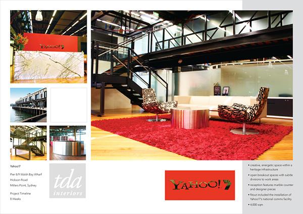 Company Profile Tda Interiors On Behance