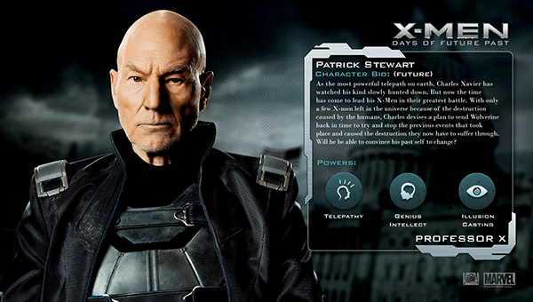 X Men Evolution Characters Profiles X-men: Days Of Future ...