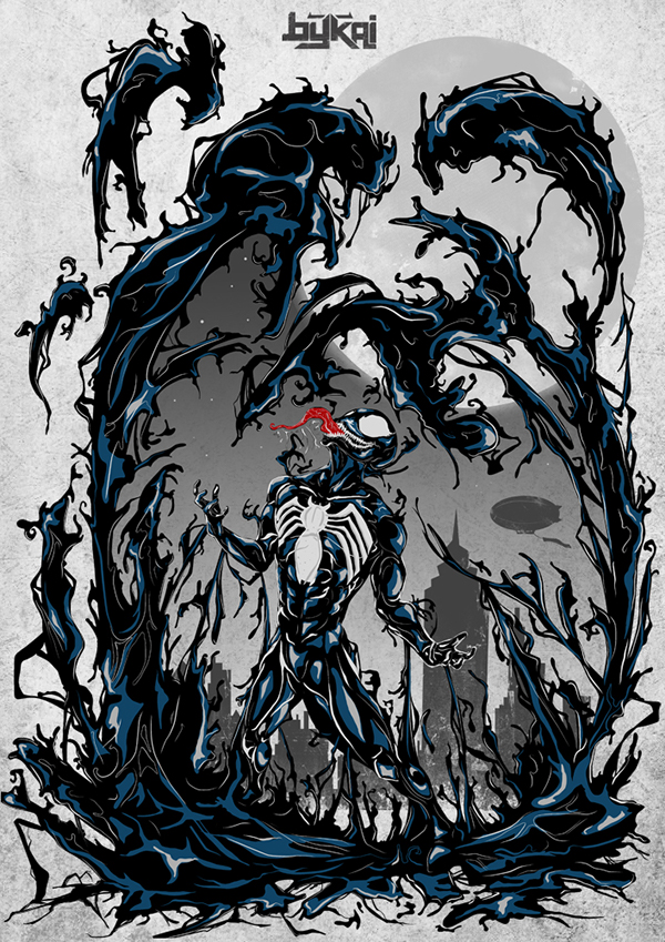 Venom spiderman art - photo#14