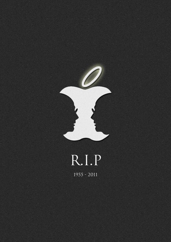 Rest In Peace Steve Jobs >> R I P Steve Jobs Inspired By Hk Artist Jonathan On Behance